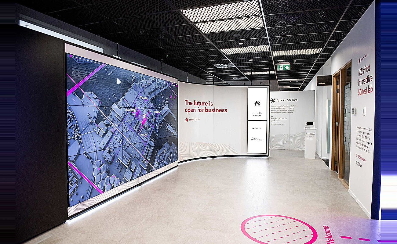 Spark 5G lab | Retail Dimension